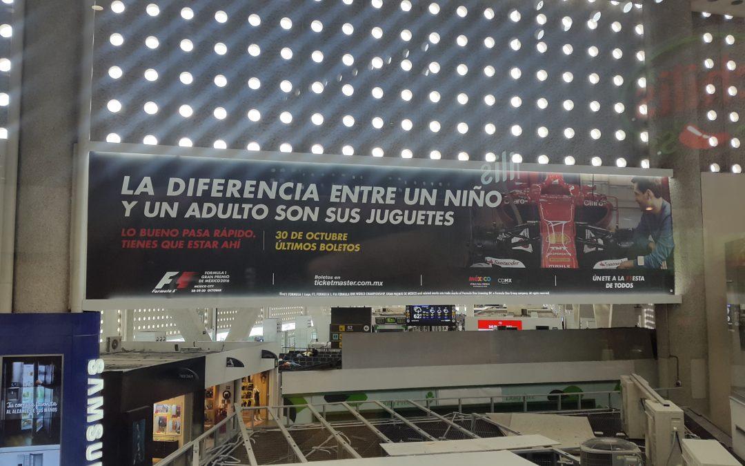Formula 1 nuevamente en México y en el AICM
