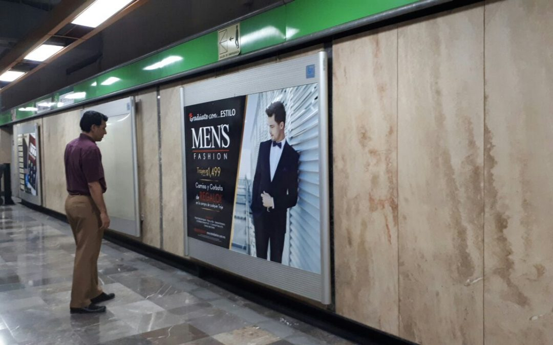 Men´s fashion impone estilo en el Metro CDMX