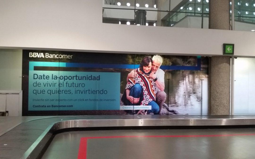 BBVA Bancomer apuesta por los viajeros del  AICM