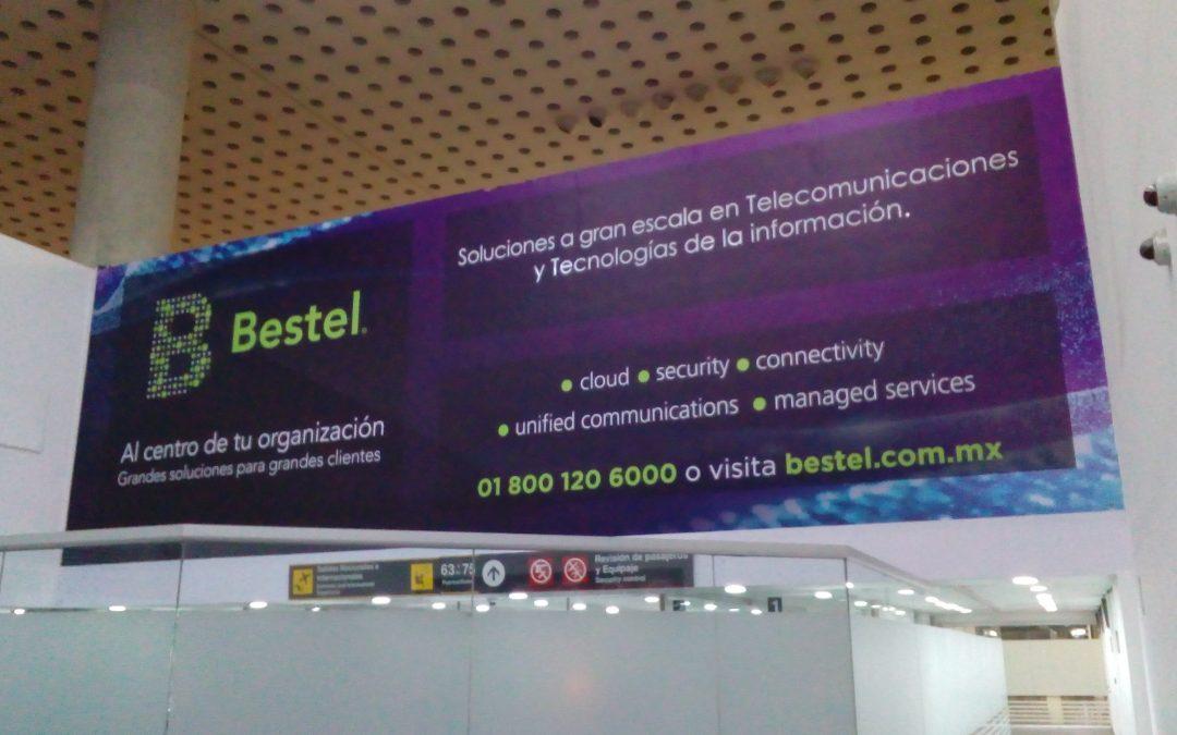 Bestel ofrece grandes soluciones en grandes formatos en el AICM