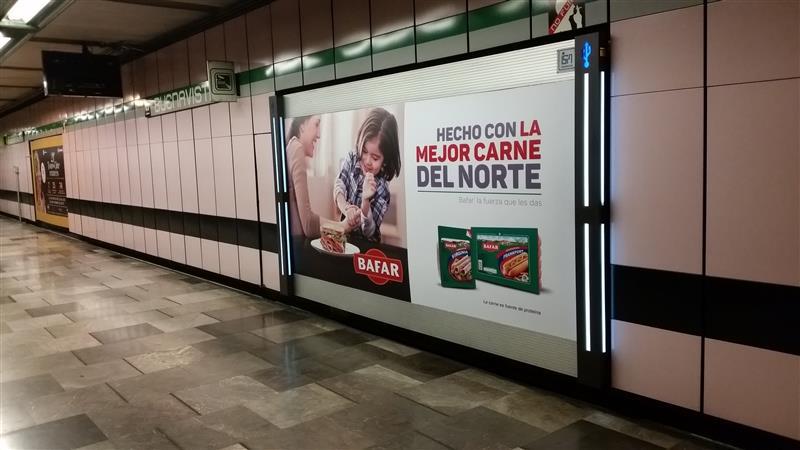 Puro orgullo norteño en el Metro CDMX