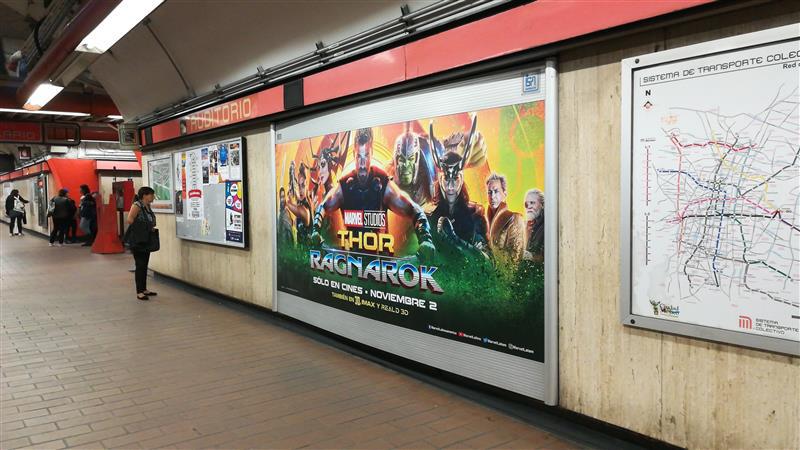 El Dios del trueno regresa y llega al Metro CDMX